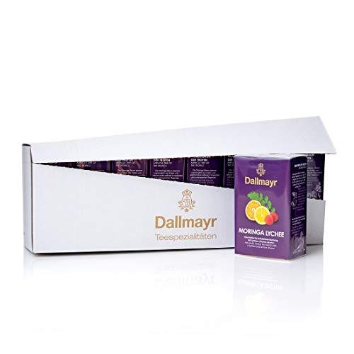 Dallmayr Moringa Lychee Ayurvedischer Tee 8 x 100g