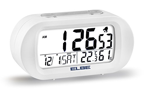 Elbe RD-009-B Reloj despertador termómetro