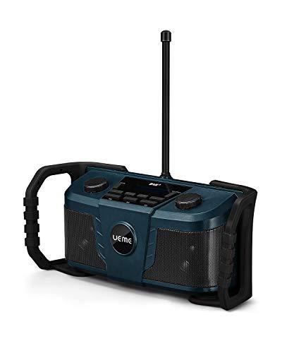 Vorderansicht vom Side-by-Side UEME Baustellenradio DB-322