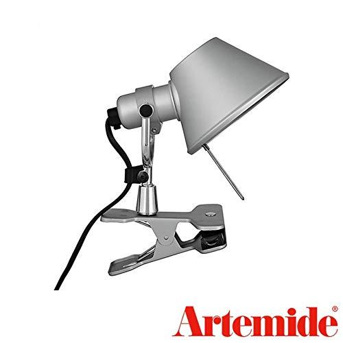 Artemide Tolomeo Micro LED tang aluminium tafellamp wandlamp design De Lucchi Fassina
