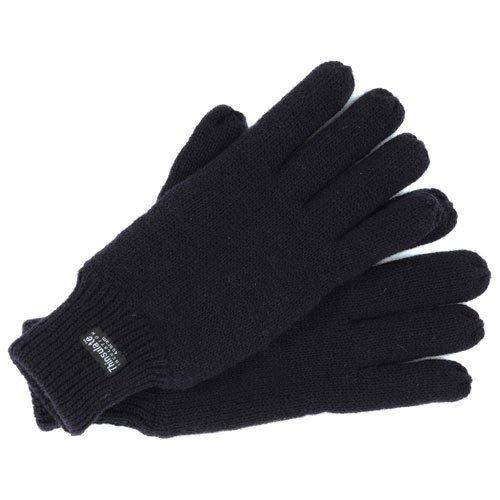 Advanced Dickies Herren Thermo-Handschuhe, Schwarz, Einheitsgröße, 3 Stück