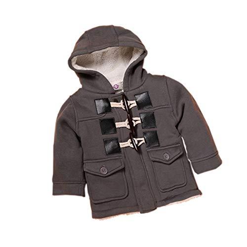 SERAPHY Warmer Kindermantel Dicke Jacke Warmer Mantel Winter für Baby Junge Mädchen Hoodie-GY-80