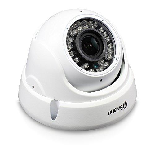 Swann Pro HD Zoom Dome Camera, White (SWPRO-1080ZLD-US)