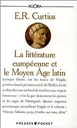 LITTERA EUROPE MOYEN AGE LATIN d'Ernst-Robert Curtius