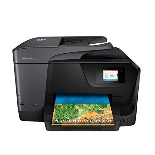 Hp Officejet Pro All in One Printer-Black - Model 8710 - HEOJ8710-Desktop Printer