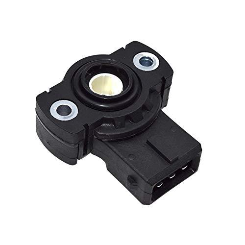 shiqi Sensor de posición del acelerador Tps para BMW 3 5 7 8 Series E30 E36 E34 E39 E32 E38 Z3 M3 Oe# 13631726591, 13631721456 (color: negro)
