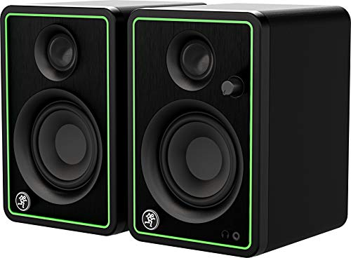 Mackie CR4-X Four-Inch Creative Reference Multimedia Monitors Bundle with and Pro Cable Kit Featuring Pro Tools First DAW Music Editing Software