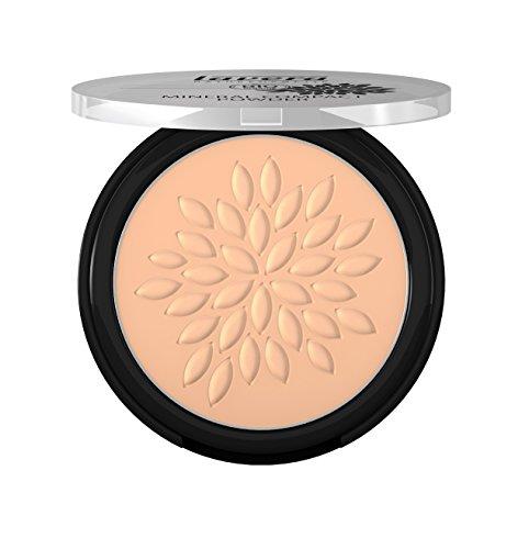 Lavera Maquillaje polvo compacto mineral -Honey 03-