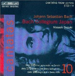 Bach: Cantatas Vol 10 (BWV 105, 179, 186) /Bach Collegium Japan * Suzuki