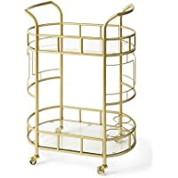 Better Homes & Gardens Fitzgerald 2-Tier Bar Cart