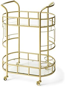 Better Homes & Gardens Fitzgerald 2-Tier Bar Cart