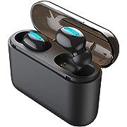 【進化版 3500mAh Bluetooth5.0】Bluetooth イヤホン 120時間連続駆動 Hi-Fi 高音質 IPX5防水 完全ワイヤレス イヤホン 3Dステレオサウンド 自動ペアリング 自動ON/OFF ブルートゥース イヤホン AAC対応 左右分離型 片耳&両耳とも対応 Siri対応 3500mAh超大容量 充電ケース付き iPhone/ipad/Android適用[技適認証済]