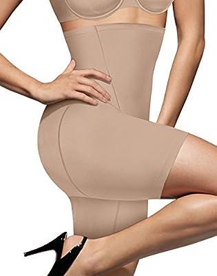 Bali Cool Comfort Hi-Waist Thigh Slimmer_Nude_Large