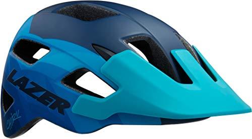 Lazer Casco MTB Ciclismo Chiru Tg S Colore Matte Blue Steel