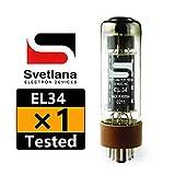 1本入り 全新 Svetlana EL34 真空管 テスト済み 6CA7 バルブ管