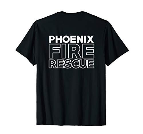 Phoenix Arizona Fire Department Rescue T-Shirt Firefighters