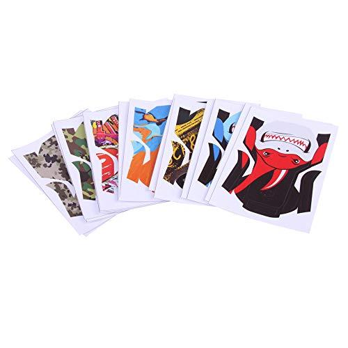 CUEYU Sticker Abziehbild Aufkleber für DJI Mavic Mini Drone,Schutzfolie Aufkleber Anzug Wasserdichter PVC Aufkleber Skin Cover Waterproof Full Body Skin Kompatibel mit DJI Mavic Mini Drone (H)