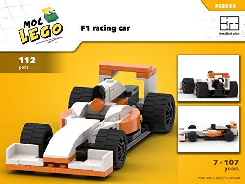 Amazon Com Formula 1 Racing Car Instruction Only Moc Lego Ebook Paquette Bryan Kindle Store