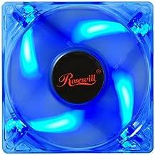 Rosewill RFTL-131209B RFTL-131209R 120mm Computer Case Cooling LP4 Adapter Fan