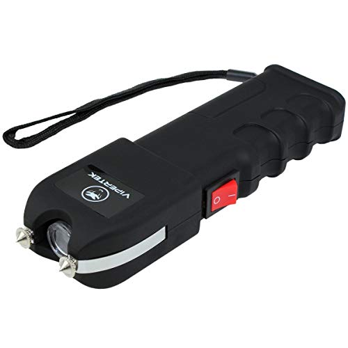 VIPERTEK VTS-989-1 Billion Heavy Duty Stun Gun - Rechargeable with LED Flashlight