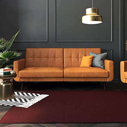 Better Homes & Gardens Nola Sofa Bed (Camel Faux Leather)