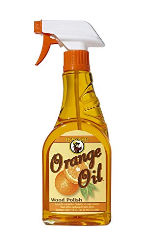 Learn More About Howard Products ORS016 Orange Oil Wood Polish, 16 oz (2 Bottles)