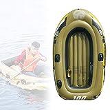 WN-PZF Kayak Hinchables,Barcas De Pesca Recreativa,Piragua Engrosada para 2 Personas con Bolsas De Aire Múltiples,Equipada con Tabla De Remo/Bomba De Aire Manual/Kit De Reparación/Cuerda De Remolque