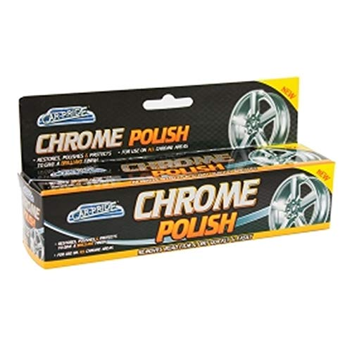 Car Pride Car Chrome Polish Cleaner Restores Polishes & Protects 70ML