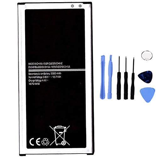 Ellenne Batería compatible con Samsung J7 2016 J710 EB-BJ710CBE de alta capacidad 3300 mAh con kit de desmontaje incluido