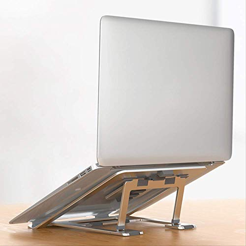 Aluminum Alloy Notebook Stand Portable Magnetic Foldable Laptop Stand Holder for MacBook Pro Adjustable Computer Cooling Bracket