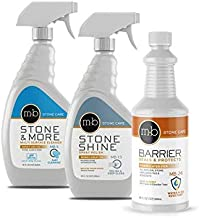 MB Stone Care Granite, Marble and Stone Countertop Polish and Maintenance Kit (MB-4, MB-5, MB-13)