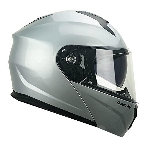 CGM Modularer Helm, 507A Pincers Mono, Silber, XL (61 – 62 cm)