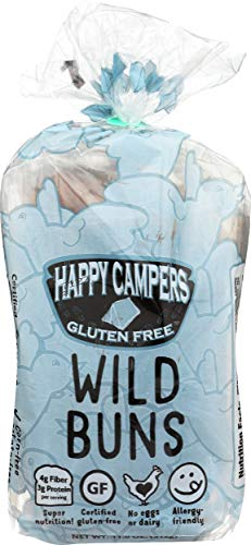 Happy Camper Baking, Bun Wild Gluten-Free, 4 Count, 11 Ounce