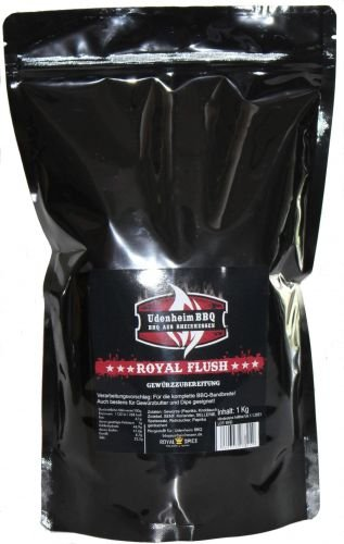Royal Flush Rub, UdenheimBBQ, 1 Kg Beutel