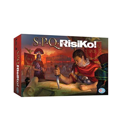 Spin Master Games- SPQRisiKo Gioco da Tavolo, il Gioco di Strategia più Giocato in Italia, Ambientato nell'Antico Impero Romano, dagli 8 Anni  in Su, 6053992
