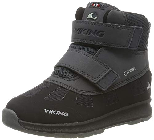 Viking Toby GTX, Botas de Nieve Unisex Niños, Negro (Black/Charcoal 277), 20 EU