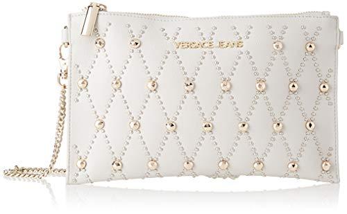 Versace Jeans Couture Damen Wallet Geldbeutel, Grau (Grigio Metallizzato), 1x16x25,5 Centimeters