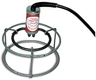 Farm Innovators Model W-449 Submergible Bucket Heater with Attached Guard, 1,000-Watt