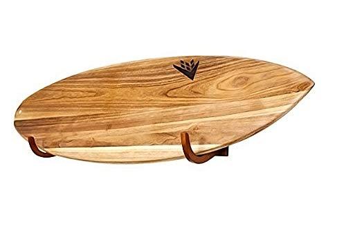 Perfecto para apoyar longboards, tablas cortas, tablas de snowboard, wakeboard y kiteboards Resistente madera maciza para mostrar su colección de tablas. Tira de caucho de protección para evitar daños en la placa. Fácil de instalar, con todas las her...
