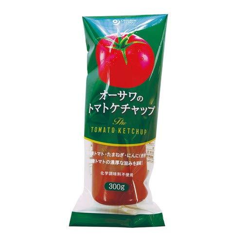 オーサワのトマトケチャップ(チューブ入り) 300g