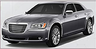QAA fits 2011-2020 Chrysler 300 (4 Piece Molded Stainless Steel Wheel Well Fender Trim Molding, Will Cover Marker Lights) WZ51765