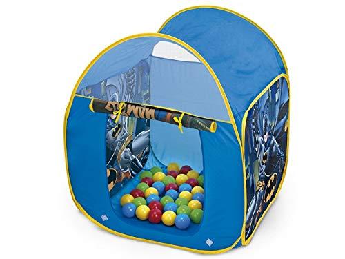 Barraca Infantil com 25 Bolinhas Cavaleiro das Trevas Batman Azul
