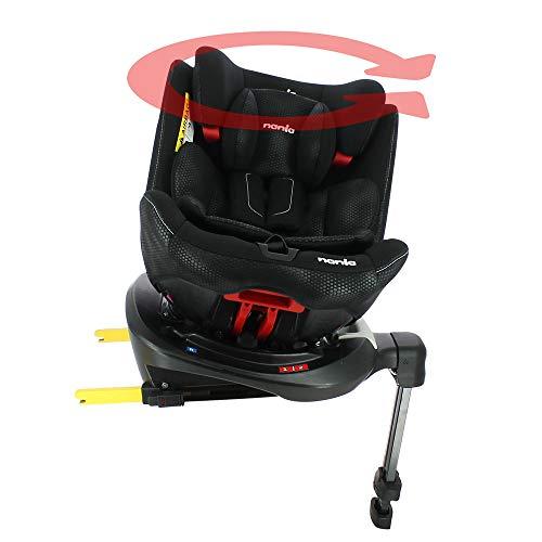 Silla de auto RANGER isofix 360° grupo 0/1/2/3 (0-36kg) - silla evolutiva con protección lateral - Nania ⭐