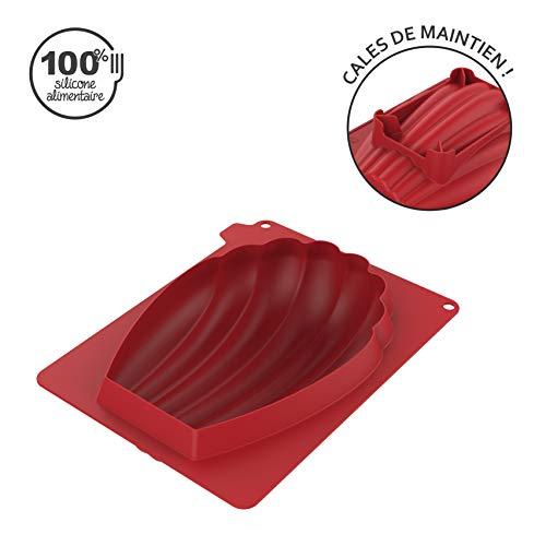 CÉCOA - Moule Silicone Madeleine GEANTE 3D