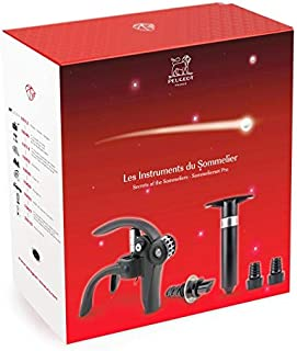 B.PRIME Molinillo de especias INOX SALTSTICK Molinillo manual con mecanismo de acero inoxidable I Molinillo de sal I Molinillo de pimienta