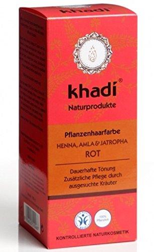 Khadi Henna Rot mit Amla und Jatropha 100