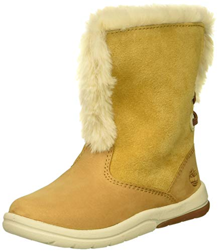 Jessica Simpson Baby-Girl's Elkie Fashion Boot, Gold, 1 Regular US Infant