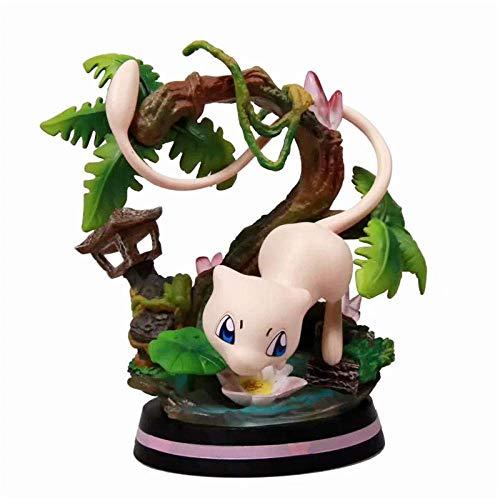 Anime Skulptur Anime Modelo Figura Pokemon Mew Boxed.Alto 11 cm