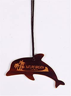 Carmate Nature's Breath Coco, FRA219 Air Freshener, Dolphin/Coconut