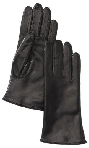 Roeckl Damen Handschuhe Classic, Einfarbig, Schwarz (000), 8.5 (Herstellergröße: 8.5)